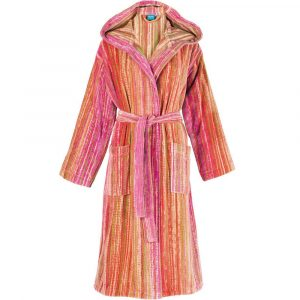 Elaiva hooded badjas Grass Pink