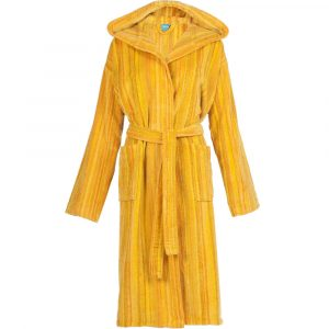Elaiva hooded badjas Shadows Yellow