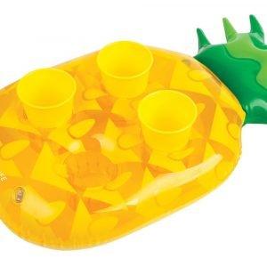 Sunnylife opblaasbare drankjeshouder Ananas