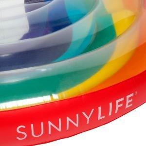 Sunnylife luxe luchtbed Regenboog