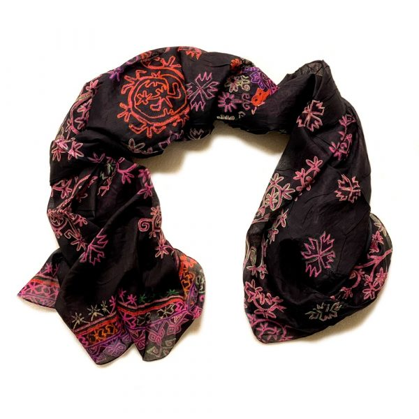 Pareo Black Batik