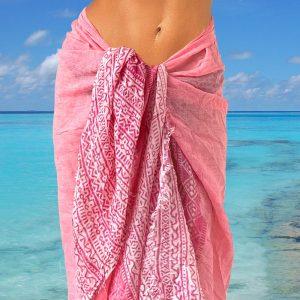 Pareo Pink Batik
