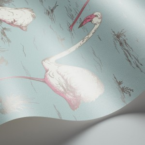 Cole and Son behang Flamingos 6044