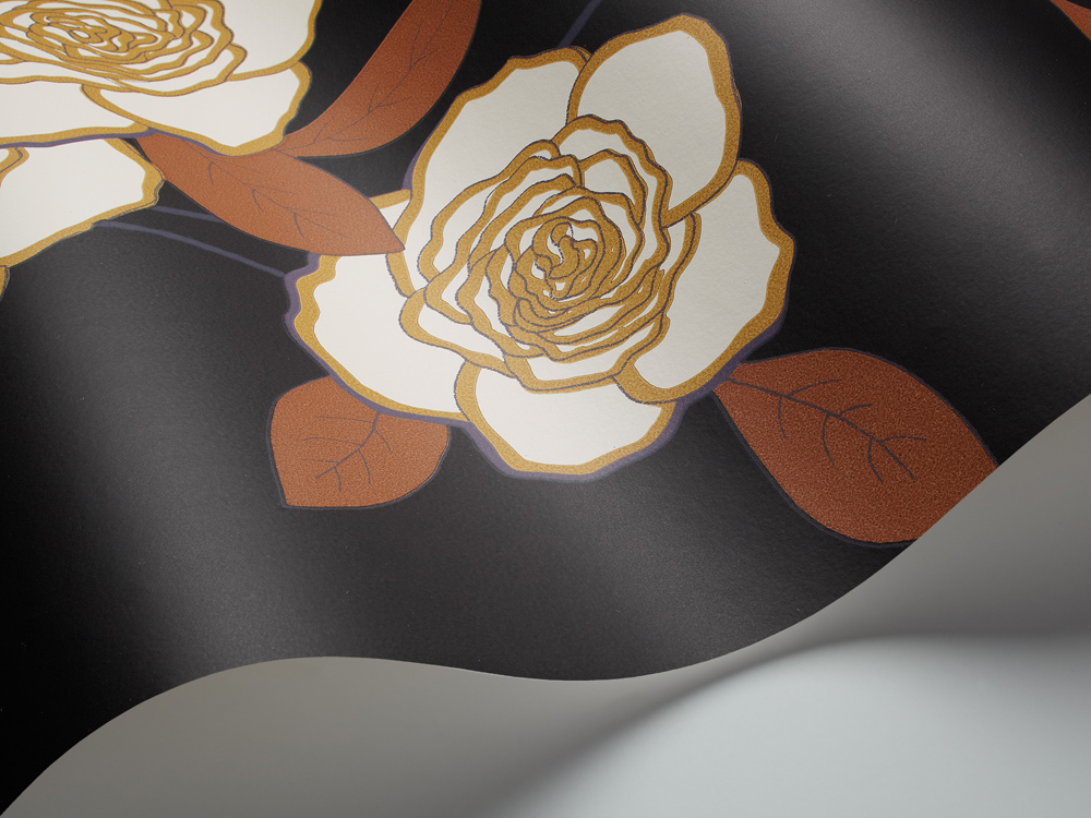 Cole and Son behang Paper Roses 6121