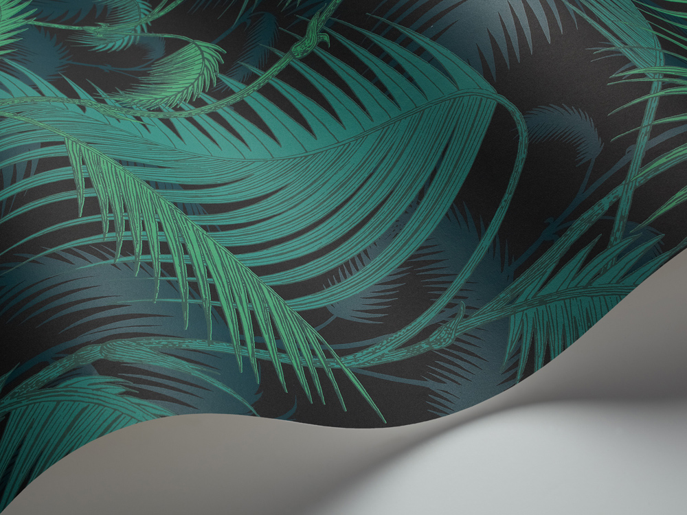 Cole and Son behang Palm Jungle 1003