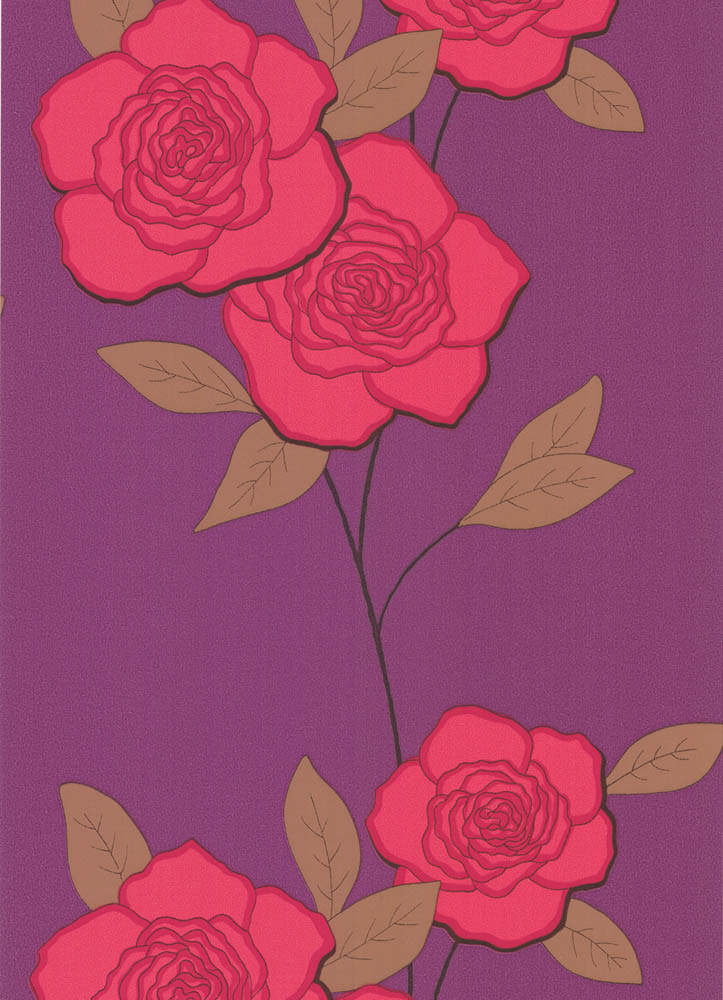 Cole and Son behang Paper Roses 6124