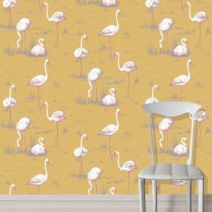 Cole and Son behang Flamingos 6043