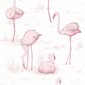 Cole and Son behang Flamingos 8045