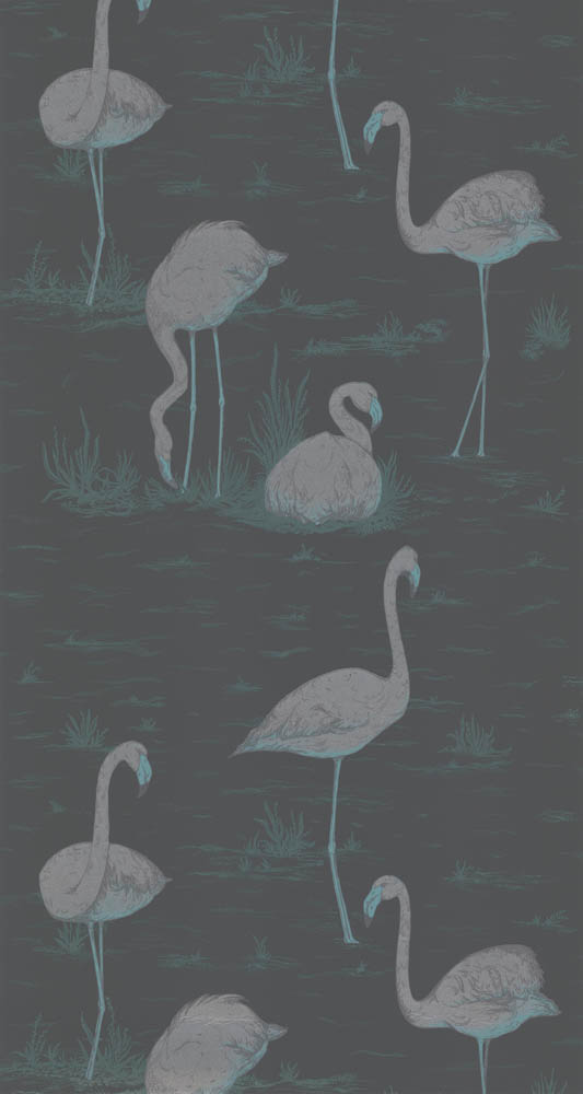 Cole and Son behang Flamingos 8048