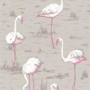 Cole and Son behang Flamingos 6042