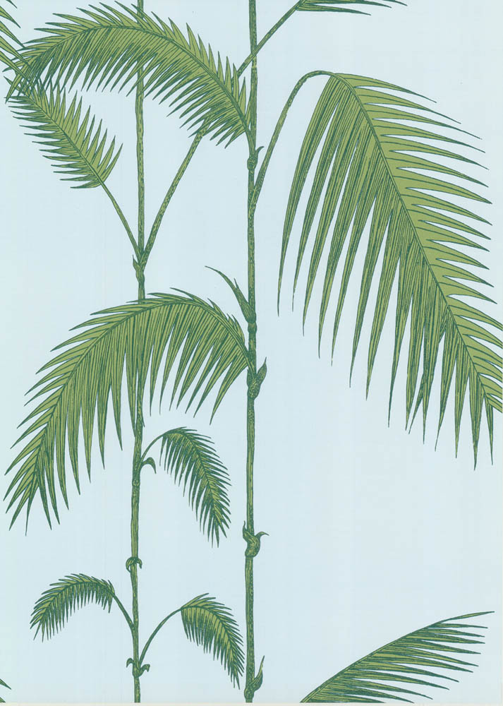 Cole and Son behang Palm Leaves 2010
