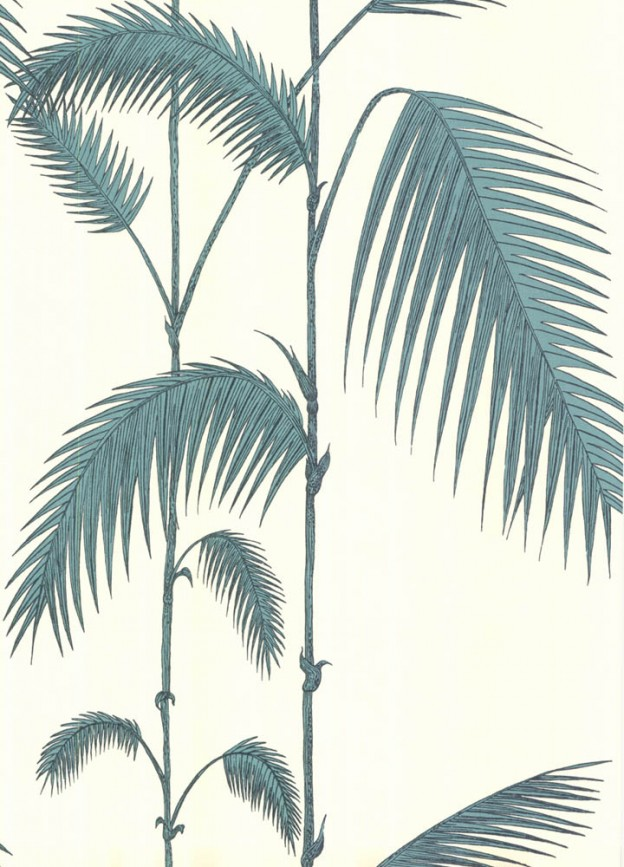 Cole and Son behang Palm Leaves 2012