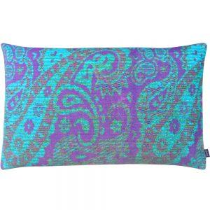 Aaizi kussen Mazan Purple Azur