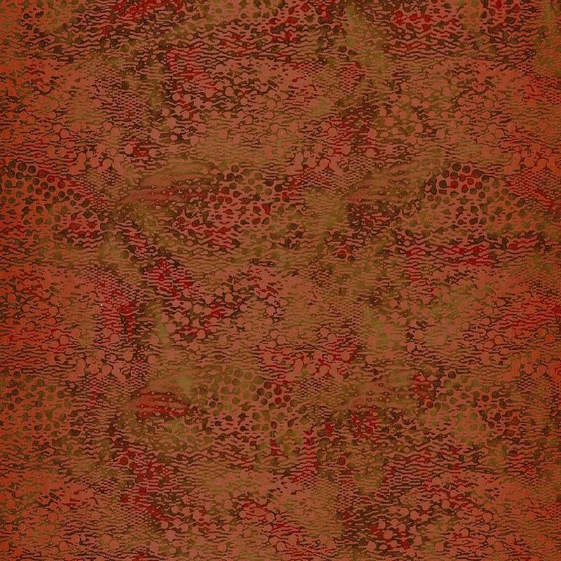 Casamance wandbekleding Beaubourg oranje