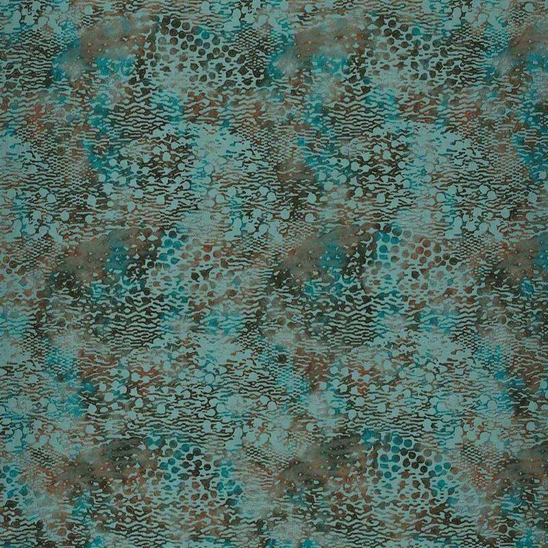 Casamance wandbekleding Beaubourg turquoise