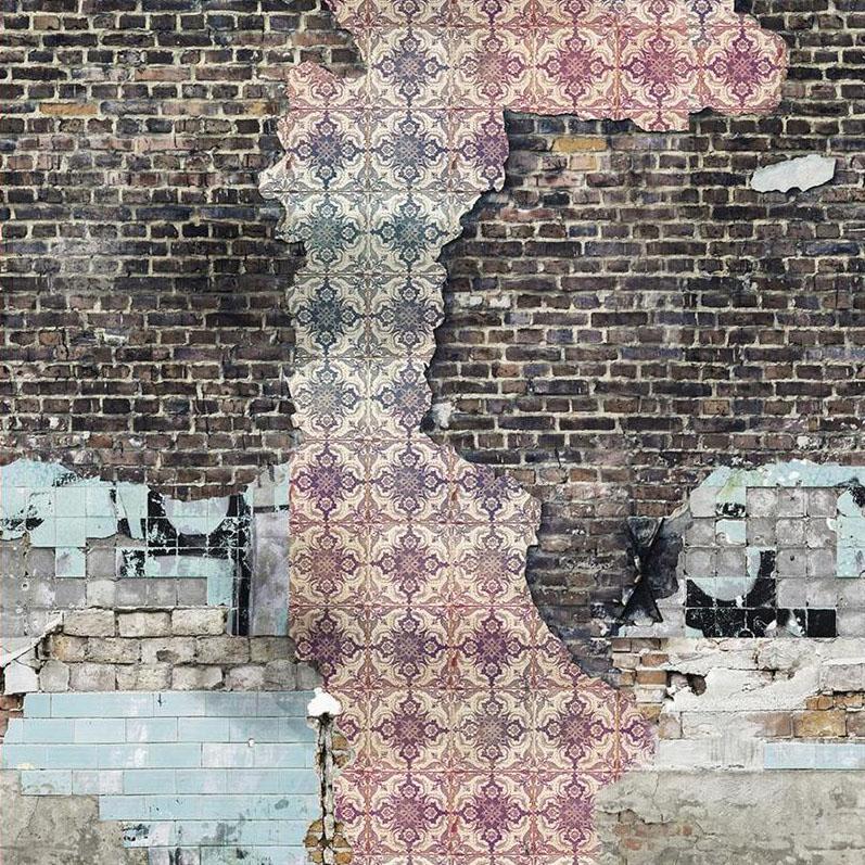 Casamance panoramisch behang Jeu de Mur-Mur