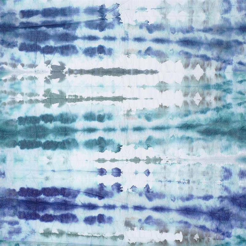 Casamance panoramisch behang Wagami blauw