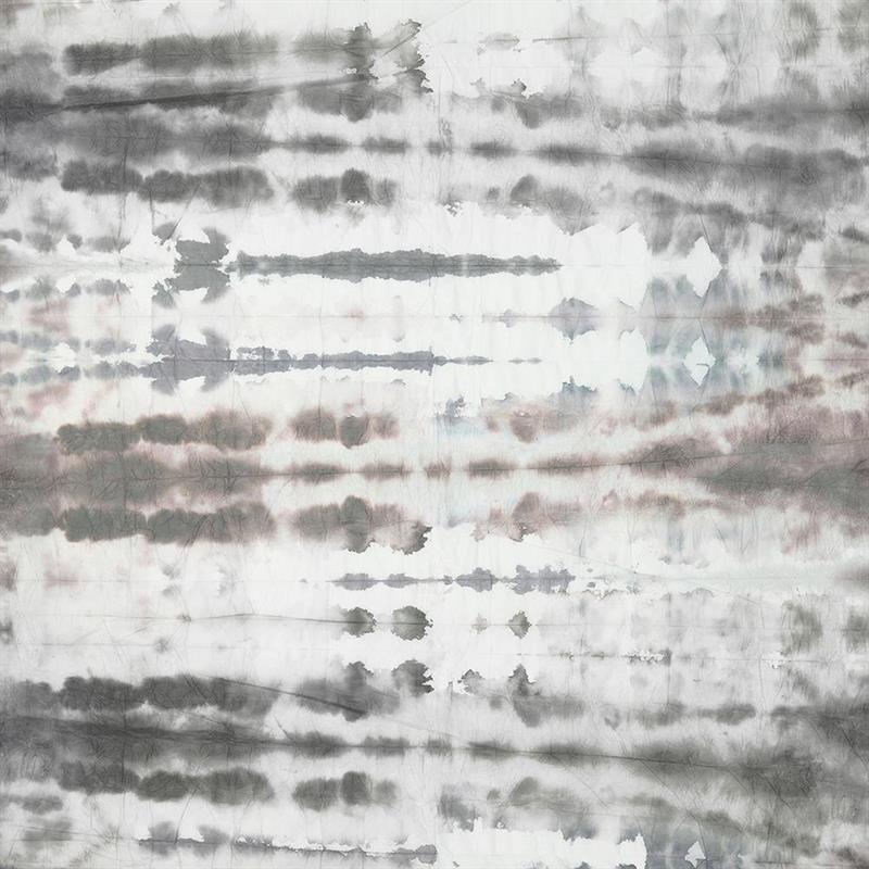 Casamance panoramisch behang Wagami grijs
