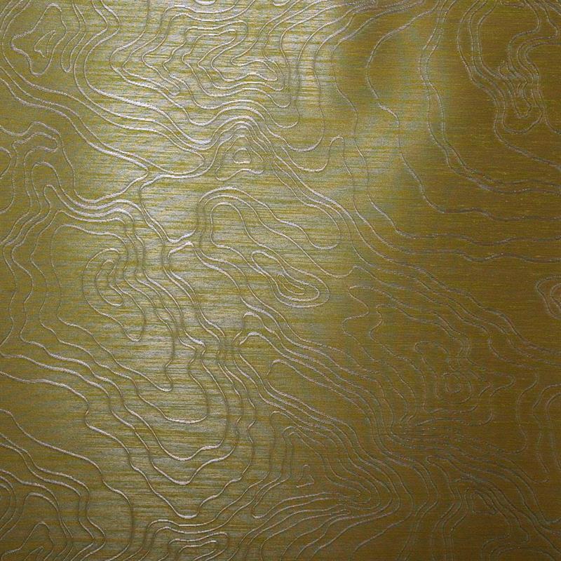 Casamance wandbekleding Merani geel