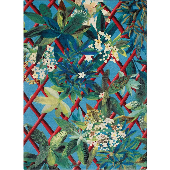 Christian Lacroix tapijt Canopy Turquoise