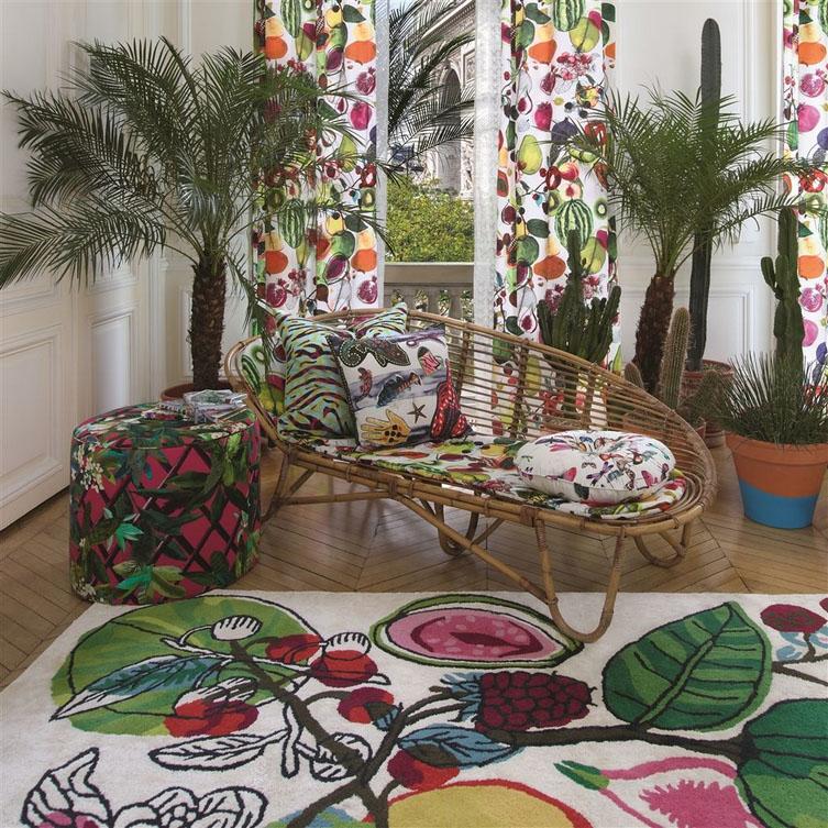 Christian Lacroix tapijt Manaos Perroquet
