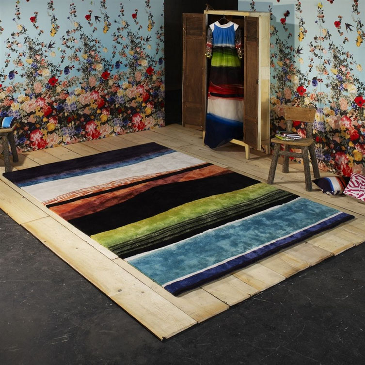Christian Lacroix tapijt Tempera Multicolor