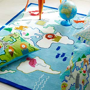 Designers Guild Kids tapijt Around the World