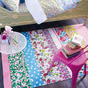 Designers Guild Kids tapijt Daisy Stripe Peony