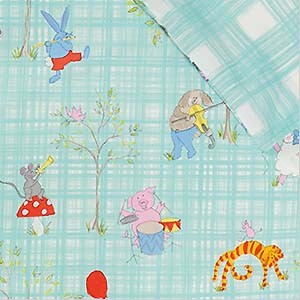 Designers Guild Kids beddengoed Musical Animals