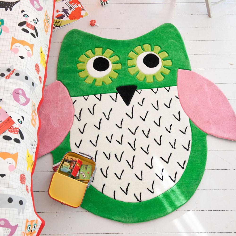 Designers Guild Kids tapijt Little Owl Emerald