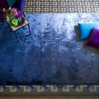 Designers Guild Tapijt Eberson Cobalt