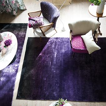 Designers Guild tapijt Phipps Aubergine