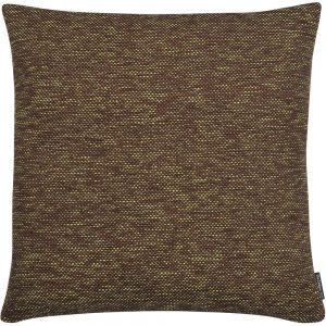 The Cushion Shop kussen Melange choco lime