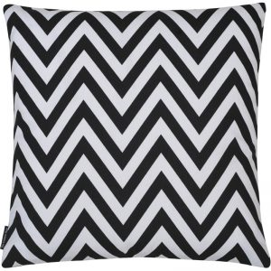 The Cushion Shop kussen Chevron black