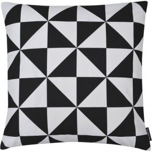 The Cushion Shop kussen Harlequin black