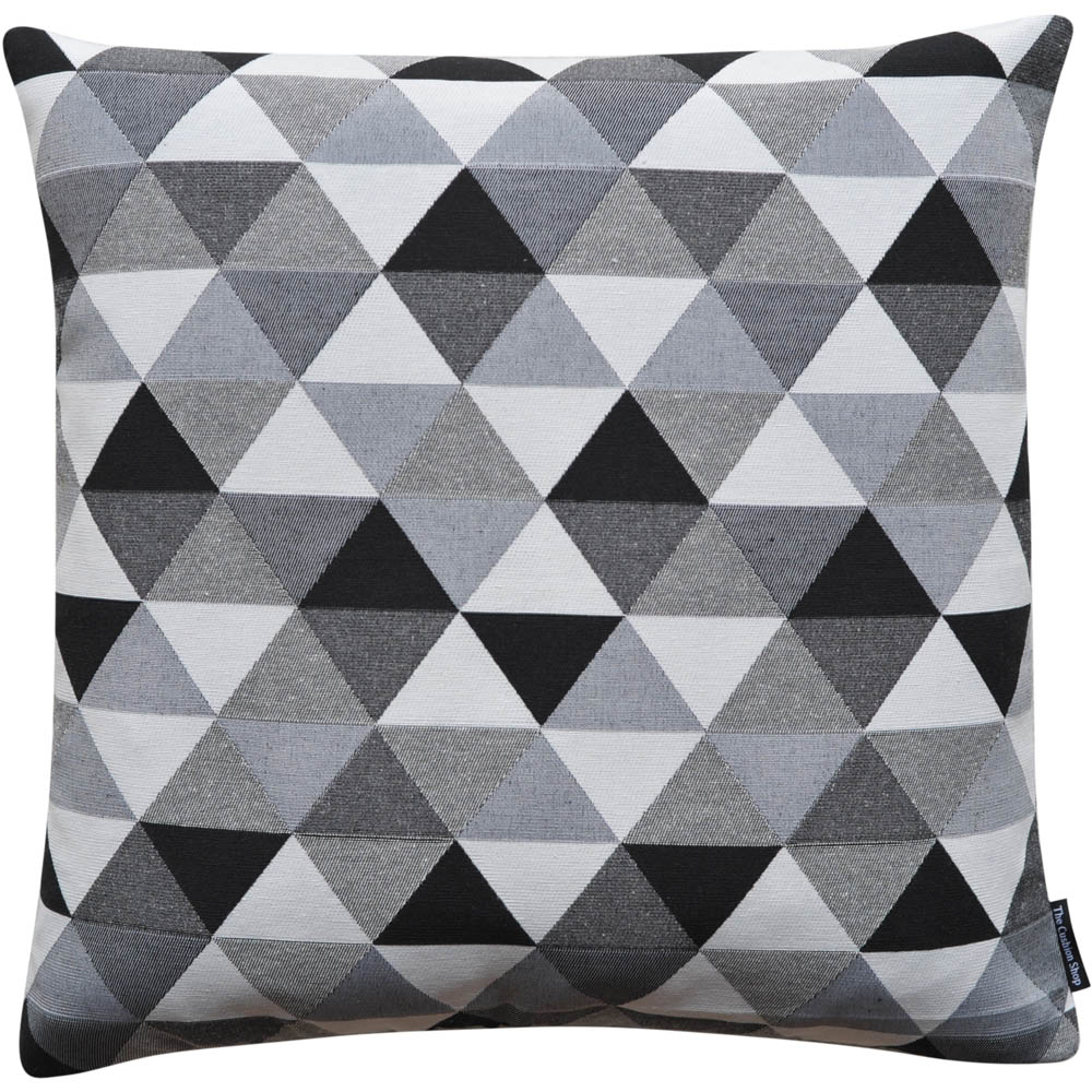 The Cushion Shop kussen Diamond black