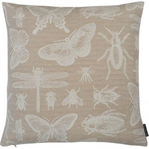 The Cushion Shop kussen Bugs beige