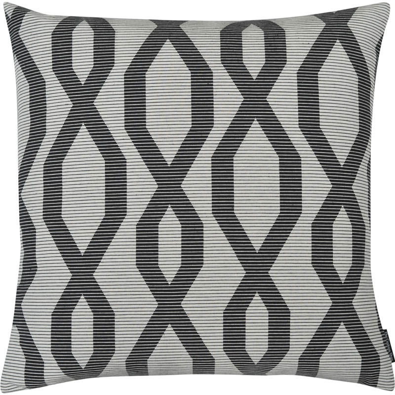 The Cushion Shop kussen Chain grey