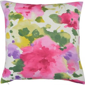 The Cushion Shop kussen Aquarelle Flowers