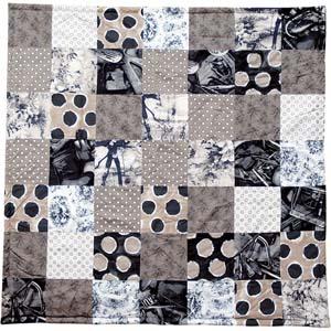 Jean Paul Gaultier Home quilt Naturel