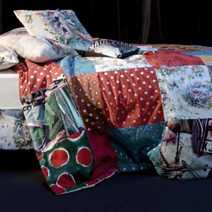 Jean Paul Gaultier Home quilt Multicolore
