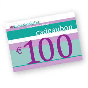 Digitale cadeaubon 100