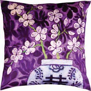 Mariska Meijers kussen In Bloom Purple
