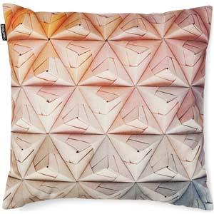 Snurk kussen Geogami roze