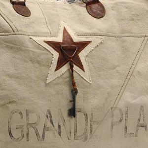 Strandtas La Grande Plage kaki