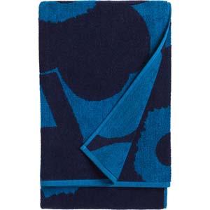 Marimekko strandlaken Unikko blauw