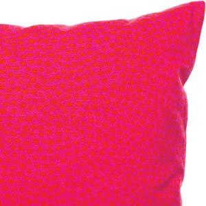 Marimekko kussen Pirput Parput roze-rood