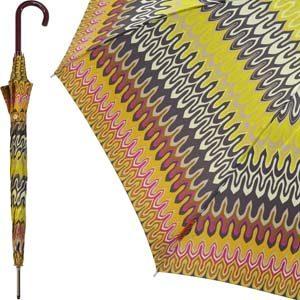 Missoni automatische paraplu Jasmine Ocher