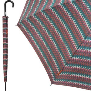 Missoni automatische heren paraplu Nikita Burgundy