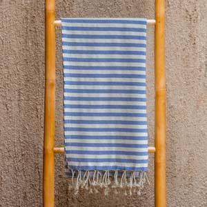 Hamamdoek Mediterranee Blue